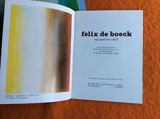 DÉDICACE FÉLIX DE BOECK(1898-1995) a
