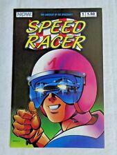 Speed Racer Vol. 1  No. 1 Sept. 1987 NOW Comics 1st Printing July 1987 NM (9.4)