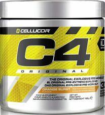Cellucor C4 Pre Workout Explosive 5Th Gen 30 & 60 Serv Orange Burst - Free P&P