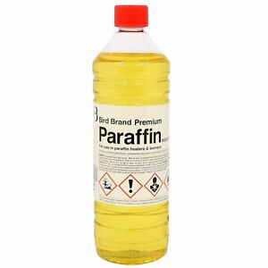 Bird Brand Premium Grade Paraffin For Greenhouse Heaters Lamps Oil Fuel 1Litre