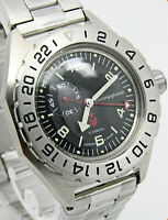 Vostok  Komandirskie Russian Military Automatic Watch - 650539 Brand New
