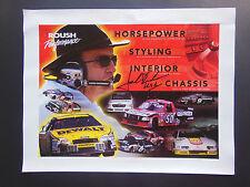 Jack Roush AUTOGRAPHED Roush Performance Products Promo Poster