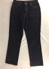"Lee 1989 Jeans Relaxed Fit Stretch Dark Wash Women 12 Medium 34""x31"""