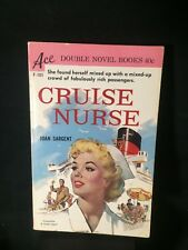 CRUISE NURSE / CALLING DR MERRYMAN 1960 ACE Double Novel Book in Good Condition