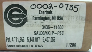 Enertrols SALD 3/4X1P-PSC Adjustable Low Velocity Shock Absorbe - New In Box