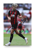 David Brooks Signed 6x4 Photo Bournemouth Genuine Autograph Memorabilia + COA