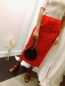 Rixo London WOMAN Zara Midi Skirt