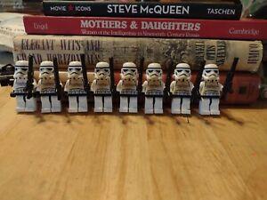 lego star wars minifigures Stormtrooper Lot (8) #10212