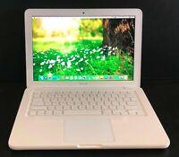 """Apple Macbook 13.3"""" Pre-Retina Laptop * 4GB RAM 120GB SSD * Latest OS + Warranty"""