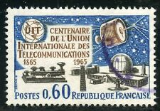 STAMP / TIMBRE FRANCE OBLITERE N° 1451 TELECOMMUNICATIONS