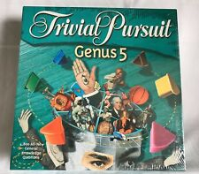 Trivial Pursuit Genus 5 Hasbro General Knowledge Board Game Up To 6 Players New