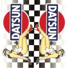 "Sticker "" DATSUN "" 68mm x 65mm BIC Lighter"