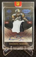 2010 Panini Plates & Patches #6 Emmanuel Sanders RPA RC Rookie Patch Auto #12/25