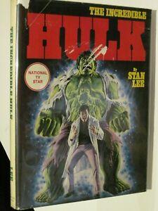 The Incredible Hulk Fireside Hardcover HC Dust Jacket has Tears
