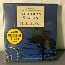 The Lucky One by Nicholas Sparks (2009, CD, Abridged)