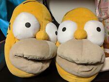 Pantofole invernali ciabatte Homer Simpson taglia unica unisex