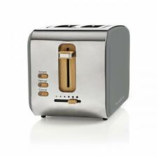 Design Retro Toaster Bagel Muffin grau