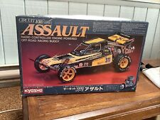 VINTAGE KYOSHO ASSAULT BOX ONLY FROM THE 80s. RARE 2WD JAVELIN Rc Buggy