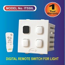 Remote control switch for 3 light