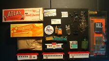 Huge TYCO - LIONEL - MARX - Vintage Train Parts - Cars - Smoke - Weights - Pemco