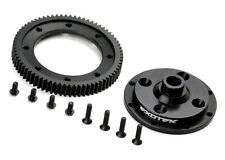 Exotek Racing 1497 D413 Machined 72 Spur Gear and Mounting Plate