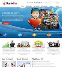SEO, Social Marketing Services reseller Website
