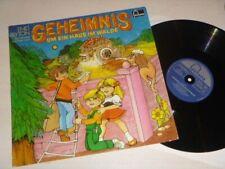 """GEHEIMNIS UM ein Haus im Wald Vinyl VG 12"""" LP FONTANA HÖRSPIEL Enid Blyton"""