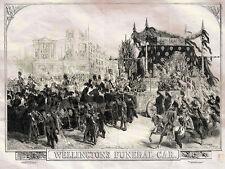 Wellingtons Funeral Car Arthur Wellesley Williamson Gilbert 1852 Photo Print A4