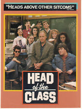 Howard Hesseman Head Of The Class 1987 Ad- Heads Above All Other Sitcoms/3 pg Ad