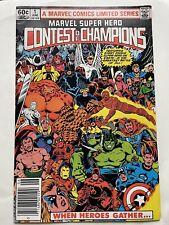 Marvel Super Hero Contest of Champions Vol1 #1 Marvel 1982 Ungraded
