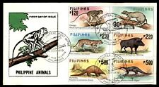 Mayfairstamps PHILIPPINE ISLANDS 1979 WILDLIFE ANIMALS COMBO FIRST DAY COVER wwe