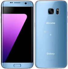 SAMSUNG SC-02H SCV33 GALAXY S7 EDGE ANDROID PHONE UNLOCKED BLUE NEW JAPAN VER