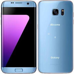 SAMSUNG SC-02H SCV33 GALAXY S7 EDGE ANDROID PHONE UNLOCKED BLUE NEW JAPAN VER