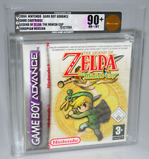 Legend of Zelda The Minish Cap Nintendo Game Boy Advance GBA SEALED VGA 90+ Gold