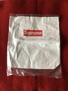 Supreme Tyvek Paper Tote Bag White 2015 Off-White