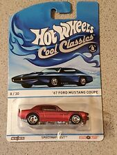 Hot Wheels '67 Ford Mustang Coupe 1967 Spectrafrost Cool Classics Series MOC