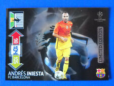 CARD ADRENALYN CHAMPIONS LEAGUE 2012/13 - INIESTA - BARCELONA - LIMITED EDITION