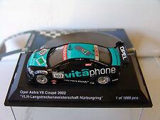 Schuco 1/43 Opel Astra V8 Coupe #103 VLN 2002 Nurburgring