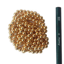 200 STRONG MAGNETS 5mm Neodymium Spheres Balls - Gold  Color - Free Shipping
