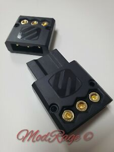 Quick Disconnect Amplifier Power / Ground / Acc. Plug Perfect For Baggers NEW !