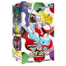 """Pokemon """"Shining Legends"""" 160Cartes Soleil et Lune 20Booster Display Coréen SM3"""