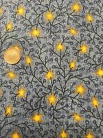 Blue Stars Classic Folk Art 1168 Fabri-quilt 100% Cotton Quilting Craft fabric