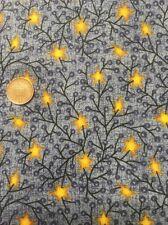 Blue Stars Classic Folk Art 1168 Fabri-quilt 100% Cotton Quilting Craft fabric