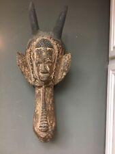 Ivo Nigeria Rare Old Antique African Tribal Animal Headdress Hand Carv 00004000 ed Wood