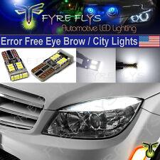 4x 6000K Xenon White LED Lights CANbus Error Free W204 City Eyebrow Eyelid #4xX7