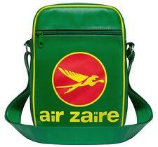 Air Zaire Airline Tasche Umhängetasche Schultertasche Sporttasche - grün -