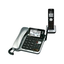 AT&T CL84102 DECT 6.0 Corded/Cordless Telephone Answering System - CL84102