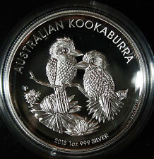 *HOT ITEM* Australian Kookaburra 2013 1 oz Silver Proof High Relief Coin