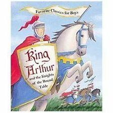 KING ARTHUR AND THE KNIGHTS OF THE ROUND TABLE Classic NEW PICTURE Story BOOK