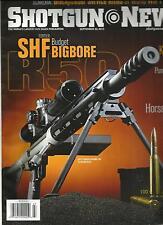 SHOTGUN NEWS, SEPTEMBER, 30th 2013  (THE WORLD'S LARGEST GUN SALES PUBLICATION